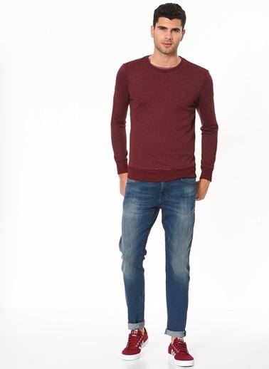 Mavi Uzun Kollu Sweatshirt Bordo